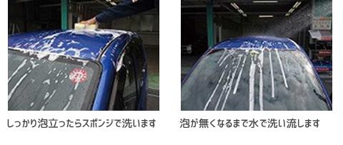 シャンプー洗車の正しい洗い方5・6