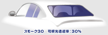 スモーク30/可視光透過率30%