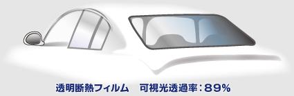 透明断熱フィルム/可視光透過率89%